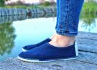 Мокасины Desun 36 23,5 см синий - изображение 2