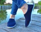 Мокасины Desun 36 23,5 см синий - изображение 4