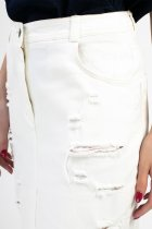Юбка Dolcedonna Бетани 48 белая СП-20388 - изображение 4