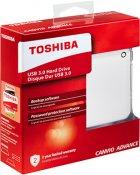 """Жорсткий диск Toshiba Canvio Advance 1TB HDTC910EW3AA 2.5"""" USB 3.0 External White - зображення 6"""