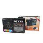Радиоприёмник-колонка аккумуляторный Golon RX-1313 MP3 USB SD Черный - изображение 3