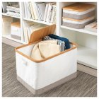 Коробка IKEA (ІКЕА) RABBLA 35х50х30см коричнева бежева (403.481.26) - зображення 7