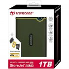 Зовнішній жорсткий диск TRANSCEND 1TB StoreJet M3G (TS1TSJ25M3G ) - зображення 3