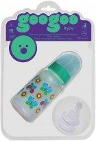 Бутылочка для кормления GooGoo Kyiv 125 мл с двумя силиконовыми сосками Зеленая (A00150000071199) (4823060811470) - изображение 1