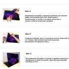 """Универсальная наклейка на ноутбук 15.6""""-13.3"""" 380х250 мм IdeaClock Панда Матовый - изображение 3"""