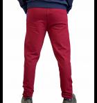 Спортивні штани чоловічі 8506 SAMO бордо XL - зображення 3