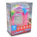 Дитяче караоке-система з диско-кулею iDance Cube Sing 100, 5W Pink (CUBESING100PK) - зображення 2