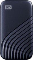 Портативний SSD USB 3.0 WD Passport 2TB R1050/W1000MB/s Midnight Blue - зображення 3