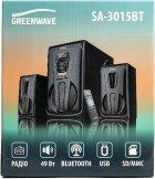 Акустична система Greenwave SA-3015BT Black-orange (R0015305) - зображення 4