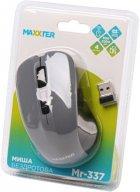 Мышь Maxxter Mr-337-Gr Wireless Gray - изображение 4
