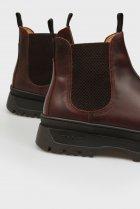 Мужские коричневые кожаные челси ST GRIP Gant 41 21651040 - изображение 2