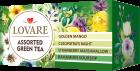 Чай зеленый Lovare Ассорти 4 вида по 6 шт пакетированный 24х2 г (4820097815679) - изображение 2