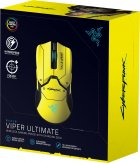 Миша Razer Viper Ultimate Wireless & Mouse Dock Cyberpunk 2077 Edition (RZ01-03050500-R3M1) - зображення 8