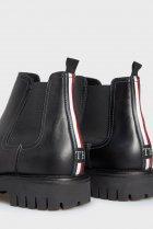 Чоловічі чорні шкіряні челсі CASUAL CHUNKY DRESS Tommy Hilfiger 40 FM0FM03051 - зображення 2