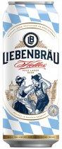 Упаковка пива Liebenbrau Helles светлое фильтрованное 5.1% 0.5 л х 24 шт (4071600070140) - изображение 2