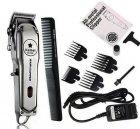 Машинка для стрижки волос Barber Kemei Km-1996 Pro аккумуляторная беспроводная с дисплеем - изображение 1