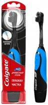 Электрическая зубная щетка Colgate 360 Древесный уголь Синяя (4606144006548_синяя) - изображение 1