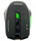 Бездротова оптична миша Jedel W400 Чорна - зображення 2