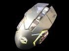 Бездротова ігрова миша на акумуляторі Zornwee CH001 Сіра - зображення 4