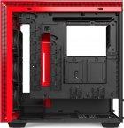Корпус NZXT H710i Matte Black/Red (CA-H710i-BR) - зображення 12