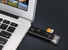 Перехідник з USB TypeC Micro SD на MicroSD TF card , чорний - зображення 2