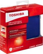 """Жорсткий диск Toshiba Canvio Advance 2TB HDTC920EL3AA 2.5"""" USB 3.0 External Blue - зображення 6"""