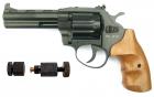 Револьвер под патрон Флобера Safari РФ 441 М + Обжимка патронов Флобера в подарок - зображення 1