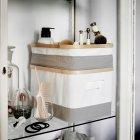 Коробка з кришкою IKEA (ІКЕА) RABBLA 25х35х20см коричнева бежева (603.481.25) - зображення 8