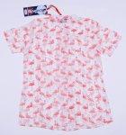 Комплект (рубашка + майка) Tom-Du ZOE 128-134 см Бело-светлый с коралловым (2000000009060) - изображение 2