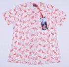 Комплект (рубашка + майка) Tom-Du ZOE 128-134 см Бело-светлый с коралловым (2000000009060) - изображение 6