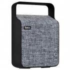 Колонка Портативная акустическая Hoco BS6 NuoBu desktop Bluetooth speaker Bass+ Gray (00336) - изображение 1