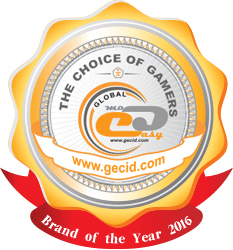 GECID Brand of the Year 2016 (The Choice of Gamers)