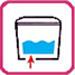 Нижний подвод воды