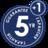 5 лет официальной гарантии + 1 год дополнительно