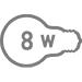 Електрична потужність 8 Вт