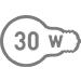 Електрична потужність 30 Вт